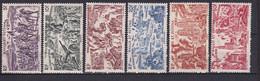 WALLIS ET FUTUNA - 1946 - TCHAD AU RHIN - YVERT N°5/10 * MLH - COTE = 12 EURO - 1946 Tchad Au Rhin