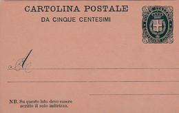 Carte Entier Postal Cartolina Postale - Stamped Stationery