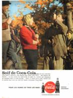 "PUB    "" COCA COLA  ""  1959  ( 24 ) - Affiches Publicitaires"