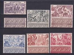 WALLIS ET FUTUNA - 1946 - TCHAD AU RHIN - YVERT N°5/10 ** MNH BDF ! - COTE = 14 EURO - 1946 Tchad Au Rhin