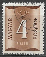 Hungary 1951. Scott #J198 (U) Numeral Of Value - Strafport