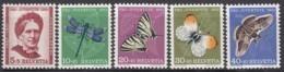 SCHWEIZ  561-565,  Postfrisch **, Pro Juventute 1951, Insekten - Neufs