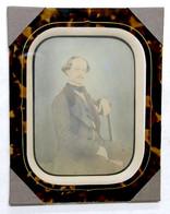 Fotografia Albumina - Ritratto Del Barone Bettino Ricasoli - Luglio 1857 - Unclassified