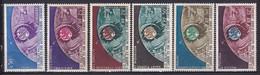1962 - SERIE LIAISON TV PAR SATELLITE ANDORRE+COMORES+SOMALIS+SPM+TAAF+WALLIS ** MNH - COTE YVERT = 62 EUR. - Ohne Zuordnung