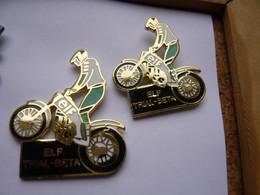 2 Pin S MOTOS TRIAL BETA ELF Different NEUF - Motorfietsen