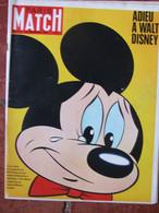 Paris Match N°924 (24 Déc 1966) Adieu à Walt Disney - - General Issues