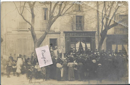 COTIGNAC Café Jardin - Carte Photo - Cotignac