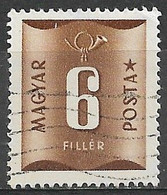 Hungary 1951. Scott #J199 (U) Numeral Of Value - Strafport