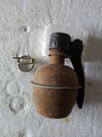 - Grenade à Main Française - Modèle 37. INERTE. - Armas De Colección