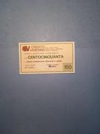 ITALIA-MINIASSEGNO-CREDITO VARESINO-UNIONE COMM.PROVINCIA VARESE-150 - [10] Assegni E Miniassegni
