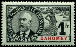 Lot N°A308 Colonies Dahomey N°30 Neuf ** Luxe - Nuevos