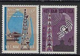 "Viet-Sud YT 279 & 280 "" Télécommunications "" 1966 Neuf** MNH - Vietnam"