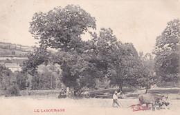 [19] Corrèze Scène Champêtre Le Labourage Edition N Nogret Précurseur - Brive La Gaillarde
