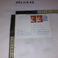 FB2624 LUXEMBOURG INTERO POSTALE PREAFFRANCATO 2 F. + 2 AFFRANCATURE 1980 PREVENTION DES ACCIDENTS DU TRAVAIL - Ganzsachen