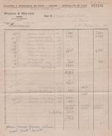17 PONS WENDEN & HERVOIR EPICERIE & DROGUERIE ENGROS GRAINS SPECIALITE DE CAFE - 1900 – 1949