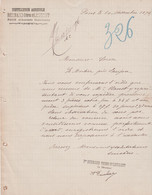 17 PONS BERNARD FRERES ET LEURENT DISTILLERIE AGRICOLE (1896) - 1800 – 1899
