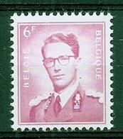 BELGIE Boudewijn Bril * Nr 1069 * Postfris Xx * WIT  PAPIER - 1953-1972 Occhiali