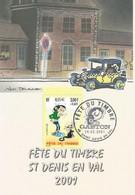 Gaston Lagaffe Fête Du Timbre 2001 Du 24 Février 2001 Saint Denis En Val - 2000-09