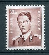 BELGIE Boudewijn Bril * Nr 1028a * Postfris Xx * WIT PAPIER - 1953-1972 Occhiali