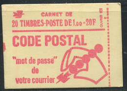 FRANCE - CARNET N° 1892 -C 3 - CONF. 8 -  * * - COMPLET FERMÉ & LUXE - Standaardgebruik