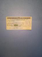 ITALIA-MINIASSEGNO- BANCA S.PAOLO-BRESCIA-ASS.NE COMM.PROV.BS-100 - [10] Assegni E Miniassegni