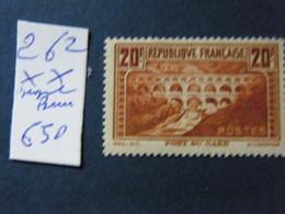 No 262  Neuf ** Signe Brun - Unused Stamps