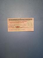 ITALIA-MINIASSEGNO- BANCA S.PAOLO-BRESCIA-ASS.NE COMM.PROV.BS-150 - [10] Assegni E Miniassegni