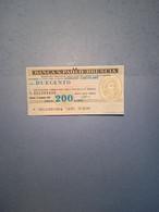 ITALIA-MINIASSEGNO- BANCA S.PAOLO-BRESCIA-ASS.NE COMM.PROV.BS-200 - [10] Assegni E Miniassegni