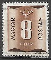Hungary 1951. Scott #J200 (U) Numeral Of Value - Strafport