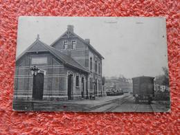 Cpa Hoeylaert Hoeilaart Gare Station - Hoeilaart