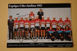 CYCLISME: CYCLISTE : EQUIPE CILO - Ciclismo