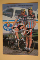 CYCLISME: CYCLISTE : ERIK PEDERSEN - ALESSANDRO PAGANESSI - Ciclismo