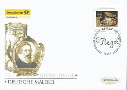 2009  Deutschland  Germany Mi. 2761 FDC  Stillleben Mit Käse Und Kirschen; Gemälde Von Georg Flegel - FDC: Enveloppes