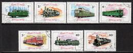 Hungary 1976 Mi# 3157-3163 A Used - Gyor-Sopron Railroad, Centenary / Trains - Gebruikt