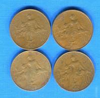 10  Cents  1898 +1907 +1910 +1920 - D. 10 Centimes