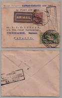 INDE - INDIA - MAADRAS / 1932 FIRST AIRMAIL ==> KARACHI (ref 6822) - 1911-35 King George V