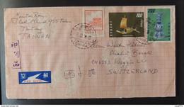 01 - 21 // China République Of Taiwan - Lettrer  For Weggis - Switzerland - Briefe U. Dokumente