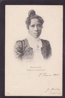 CPA Madagascar Royalty Reine Ranavalo Circulé - Madagascar