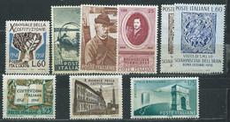I113 ITALIA  VARI 1959  9 V.    MNH ** - 1946-60: Nieuw/plakker