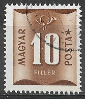 Hungary 1951. Scott #J201 (U) Numeral Of Value - Strafport