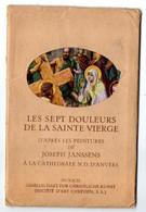 Belgique--ANVERS--ANTWERPEN--Cathédrale--Peintures De J.Janssens--Les 7 Douleurs De La Sainte Vierge--lot De 7 Cartes - Antwerpen