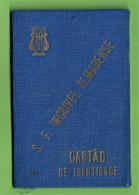 Almada - Cartão De Identidade Da Sociedade Filarmónica Incrível Almadense De 1956 - Portugal - Zonder Classificatie