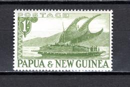 PAPOUASIE ET Nlle GUINEE    N° 10     NEUF AVEC CHARNIERE  COTE  3.00€    BATEAUX - Papouasie-Nouvelle-Guinée