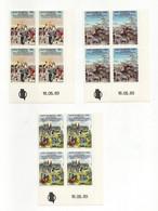 San Marino - 1989 - Bicentenario Rivoluzione Francese - 3 Valori In Quartina - Nuove**- Con Bordo Di Foglio - (FDC27925) - Unused Stamps