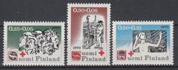 FINLAND - Michel - 1970 - Nr 672/74 - MNH** - Neufs