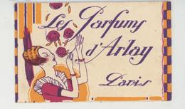 "PARFUMS & BEAUTÉ - Carte Parfumée Ancienne ""LES PARFUMS D'ARLAY PARIS "" - Oud (tot 1960)"