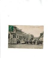 Somain Rue Pasteur Voyagee 1912 ACHAT IMMEDIAT. - Otros Municipios
