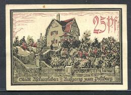 433-Aschersleben 2x25pf, 2x50pf Et 5pf 1921 Roses - [11] Local Banknote Issues