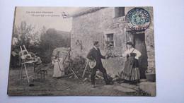 Carte Postale   ( FF4 ) Ancienne , La Vie Aux Champs - Landwirtschaftl. Anbau