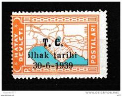 (H-T027) Postage Stamps Of The Hatay State Stamps MNH** - 1934-39 Sandjak Alexandrette & Hatay
